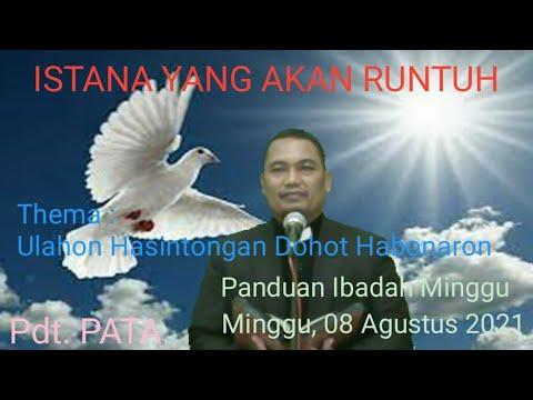 PANDUAN IBADAH MINGGU, 8 AGUSTUS 2021