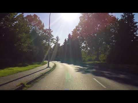 Driving in the UNIVERSITY of VICTORIA - British Columbia (BC) Canada - Tour of Campus