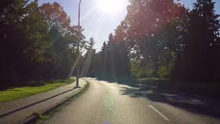 Driving in the UNIVERSITY of VICTORIA - British Columbia (BC) Canada - Tour of Campus