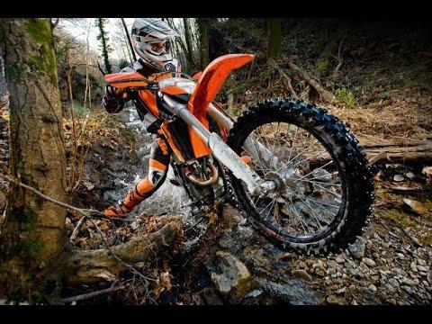 4 Stroke vs 2 Stroke Off Road Dirt Bike - Enduro Riding - Part 3