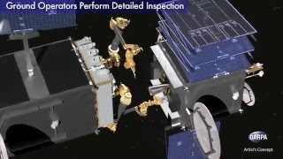Robotic Servicing of Geosynchronous Satellites (RSGS) Concept Video