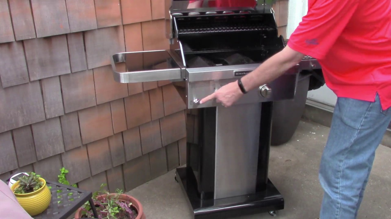 kitchen aid gas grills samsung suite review kitchenaid 2 burner grill youtube