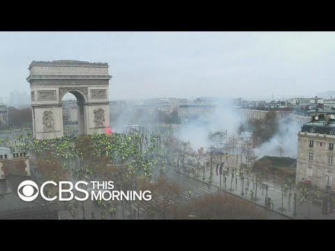 France suspends fuel tax hike amid Paris protests