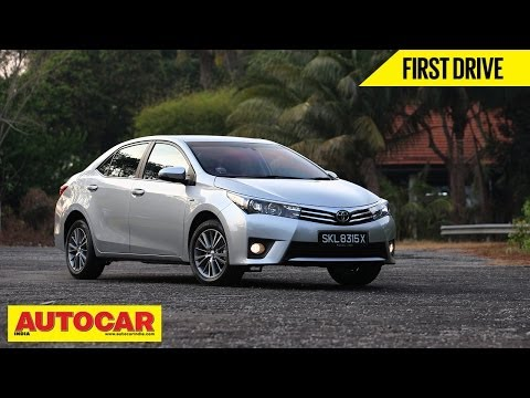 2014 Toyota Corolla Altis | Exclusive First Drive Video Review | Autocar ...