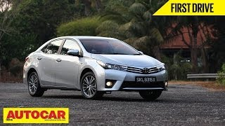 2014 Toyota Corolla Altis | Exclusive First Drive Video Review | Autocar India