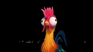 MOANA - Say Hello to Hei Hei! (2016) Disney Animated Movie HD