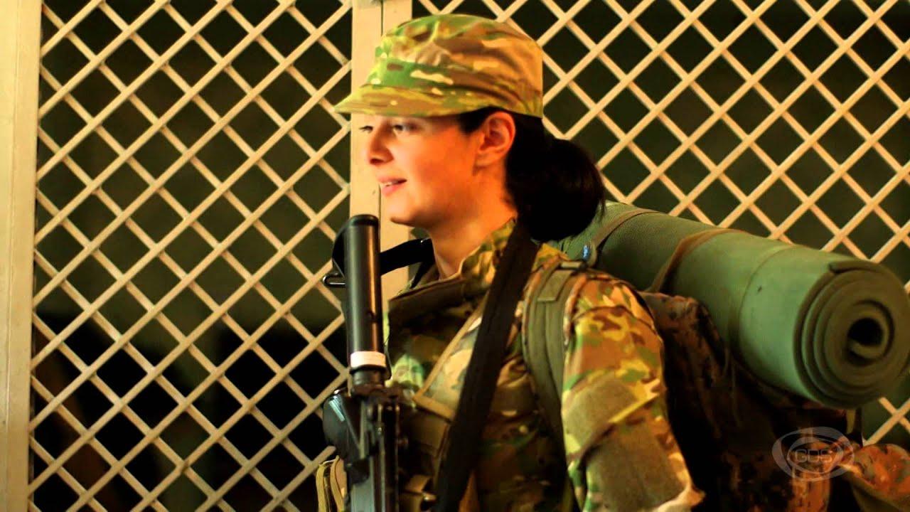 ნია ჭინჭარაული  ქალები სამხედრო სამსახურში