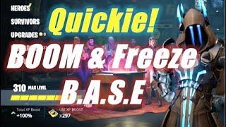 BOOM & Freeze BASE Info / Fortnite