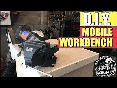 DIY Mobile Workbench | Dealing with a Small Garage