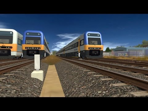 Trainz NSW CityRail 4 Car Endeavour