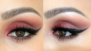 Smokey Cranberry Makeup Tutorial | Using New Products