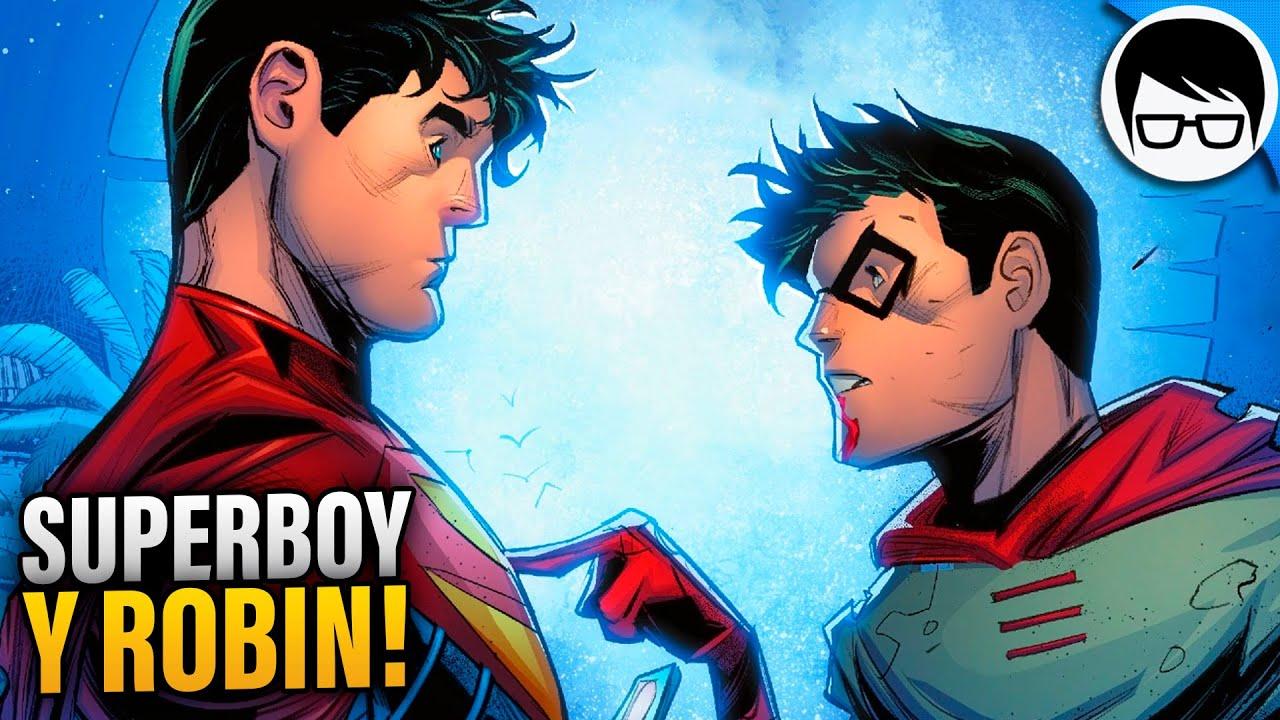 Superboy y Damian Wayne Juntos Nuevamente (2021) | Superman - Son of Kal-El #1