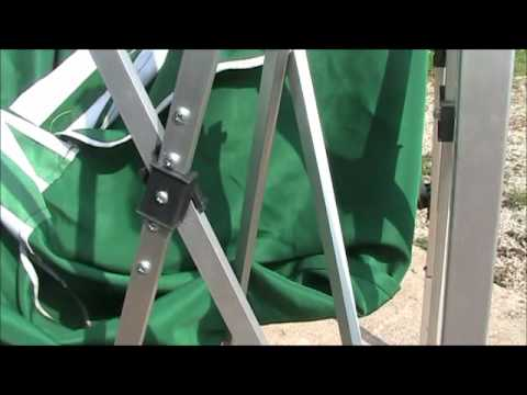 Pop Up Canopy Repair At Rocky Creek Valley Farm Youtube