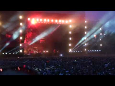 The Prodigy Milton keynes Intro and Worlds on fire, Warriors dance festival 720p HD