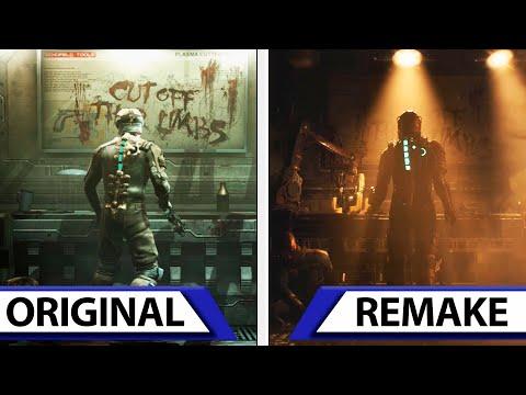 Dead Space Remake Teaser   Original VS Remake   Early Graphics Comparison & Details