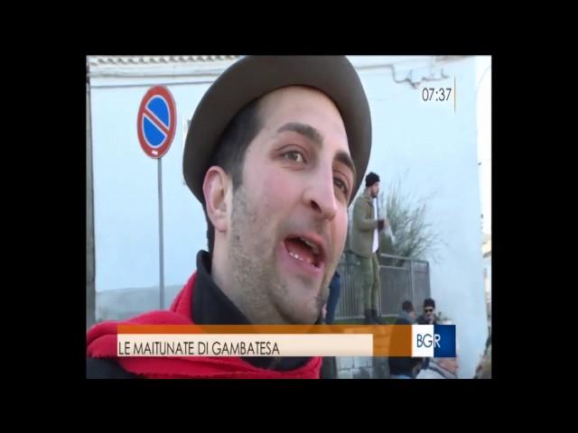 Gambatesa 1-1-2017: Buon Giorno Regione Rai3 Molise