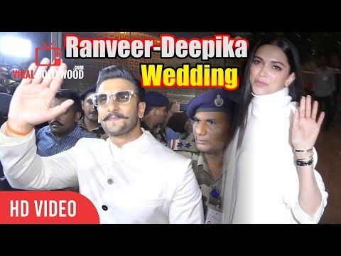 Ranveer-Deepika Take Off To Italy For Their Grand Wedding | Ranveer-Deepika Wedding