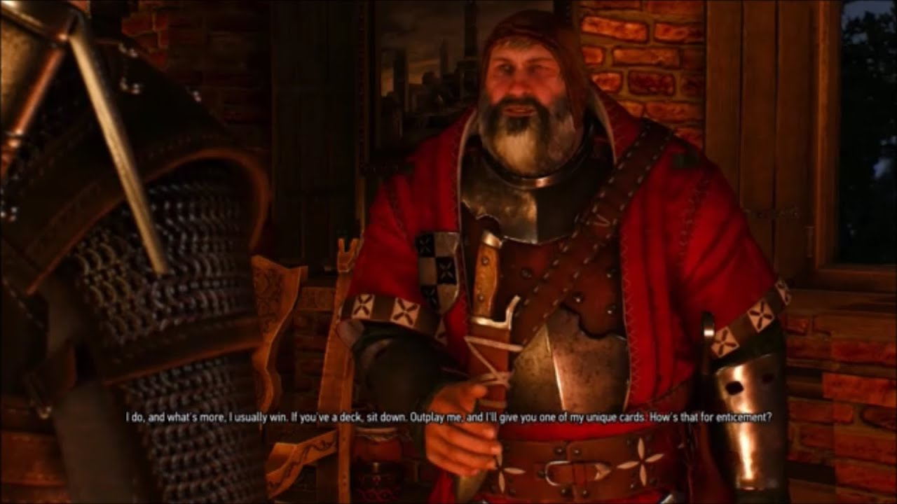 witcher 3 wild hunt ps4  gwent velen players  win a