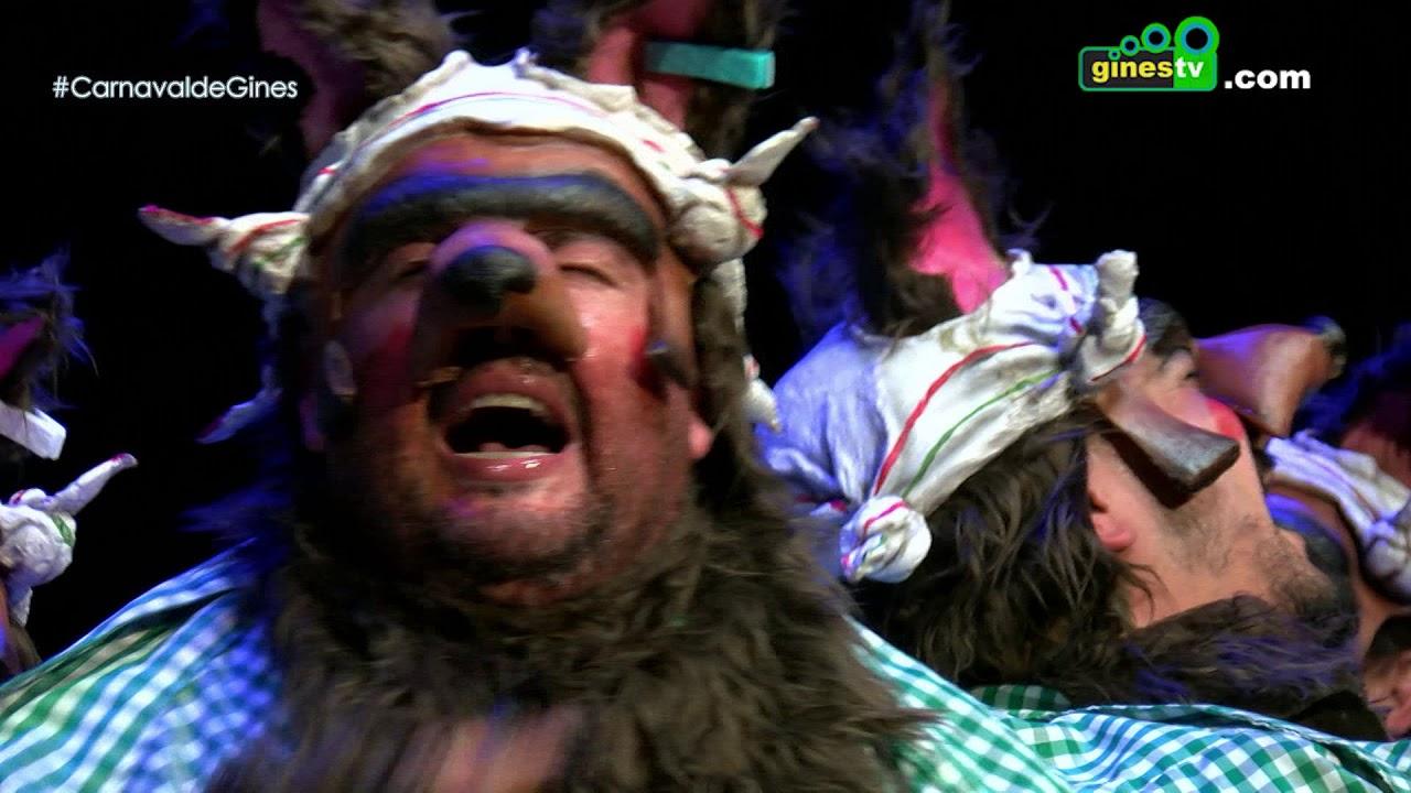 Andaluces de pedigree. Carnaval de Gines 2018 (Segunda semifinal)