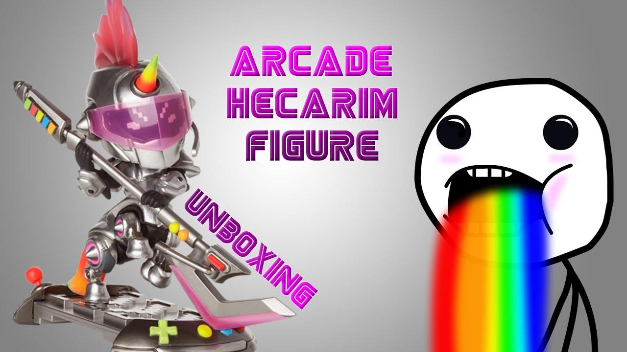 Arcade Hecarim Figure Unboxing - Serie 2 - League Of ...