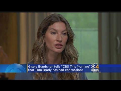 Gisele Bundchen Says Tom Brady Had Concussion Last Year