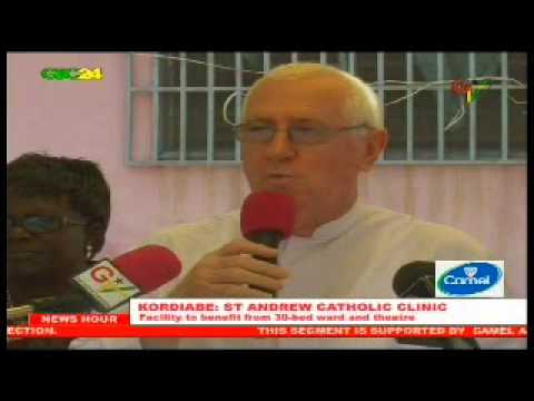 Ghana: Expansion work starts at St Andrew Clinic