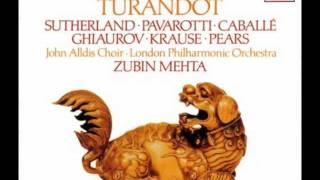Turandot 18: Act 2 Tre enigmi m'hai proposto