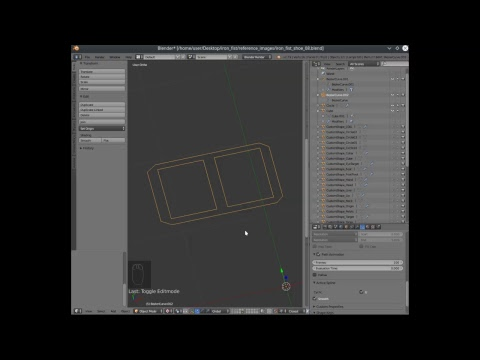 Snik Snoodle attempts to teach Blender