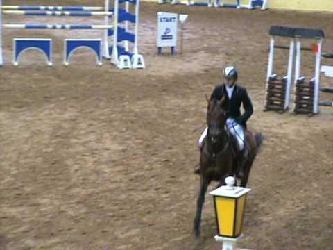 Sebastian Bak and stallion Inspector (Indoctro x Contender)  - RDS Qualifier winning round.mpg