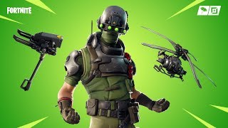 Fortnite new skins. TECH OPS,ARMATURE PICKAXE