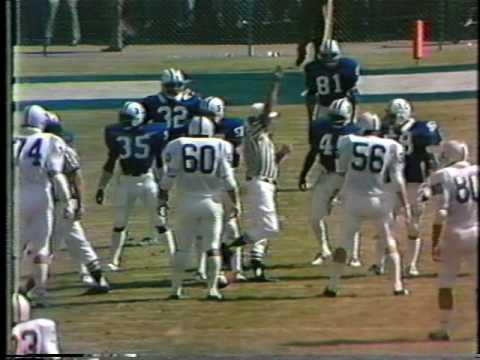 Kentucky vs Penn State 1976 2nd quarter