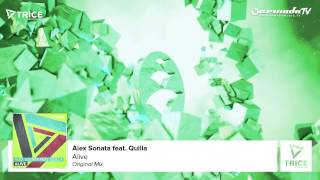 Alex Sonata feat. Quilla - Alive (Original Mix)