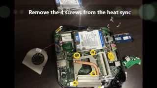 Як розібрати Асер Веритон і змінювати жорсткий диск