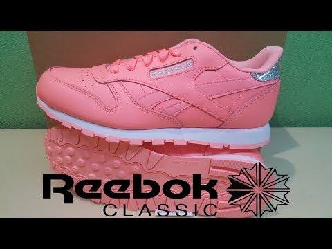 32524bed8de303 Reebok Classic Leather Pastel - Primary School - женские кроссовки. - Most  Popular Videos