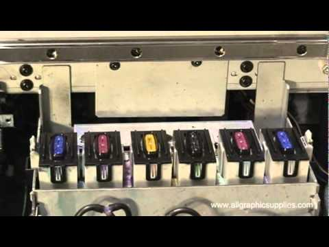 Roland SOLJET Pro II Series: Manual Cleaning - All Graphic Supplies
