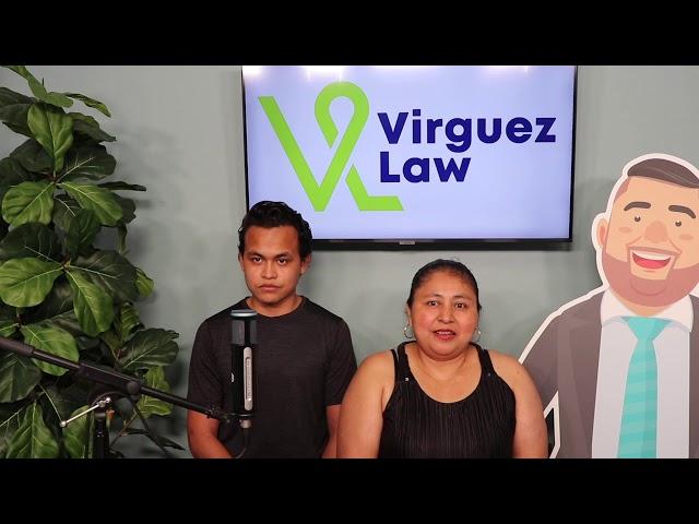 Visa U: Madre e hijo reciben su ayuda inmigratoria por Petición Familiar con Virguez Law.