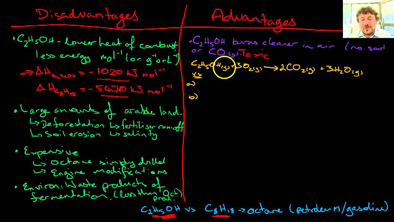 Ethanol as Fuel Advantages and Disadvantages - YouTube
