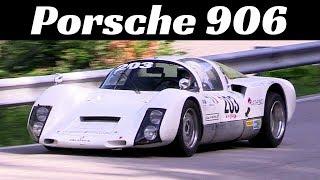 1966 Porsche 906 Carrera 6 - Hillclimb Action & Pure Sound!