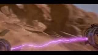 Podracer tribute - young Anakin Skywalker