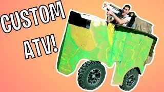CUSTOM ATV TANK UPGRADES!