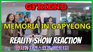 GFRIEND's MEMORIA in Gapyeong EP.1 - Reality Show Reacti…