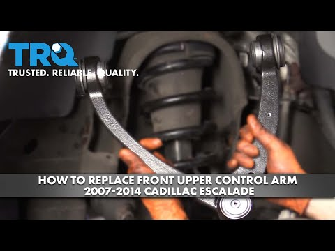 How to Replace Front Upper Control Arm 2007-14 Cadillac Escalade