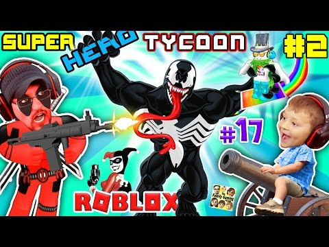 WHO PEE&39;D IN DEADPOOL?  ROBLOX Superhero Tycoon Magic Kill Quests & Boss Spawns FGTEEV 17