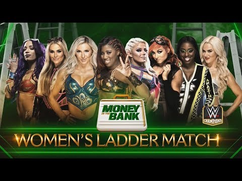 The Women of WWE Lunge for the Loot at MITB 2018