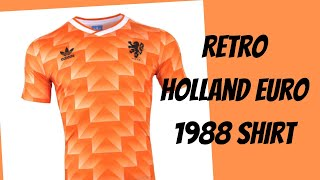 Holland 1988 Retro national jersey review DHGate alternative (BRFans) #netherlands #unboxing #review