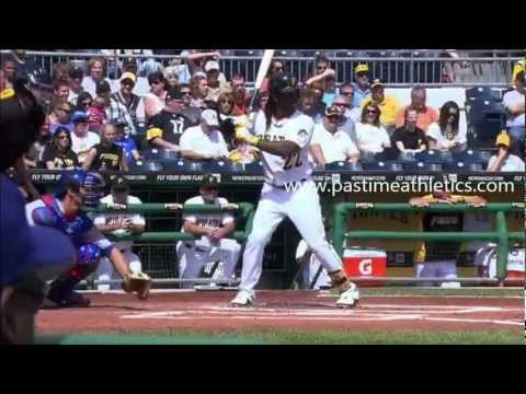 Andrew McCutchen Slow Motion Home Run Baseball Swing - Hitting Mechanics Pittsburgh Pirates