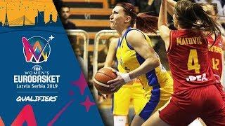Bosnia and Herzegovina v Montenegro - Full Game - FIBA Women's EuroBasket 2019 - Qualifiers 2019