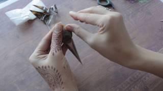 как сделать Конус для хны Что Делать Летом Менди Тату в домашних условиях Поделки своими руками