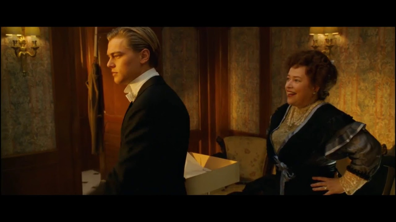 titanic jack and molly margaret brown youtube