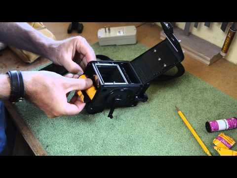 The care and feeding of the Yashicamat 124g medium format TLR film camera